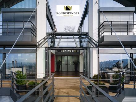 Blick über Stuttgart - Einzigartiges Architektenhaus in Stuttgarter Bestlage am Bopser