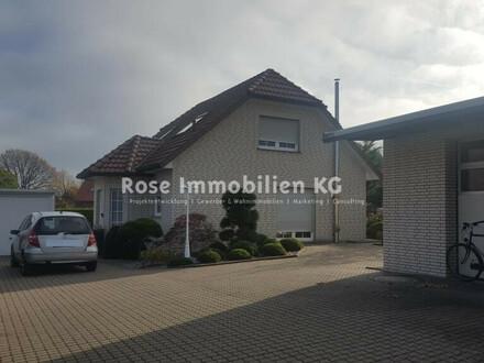 ROSE IMMOBILIEN KG: !NEUER PREIS! Wohnhaus mit Halle und Büro!