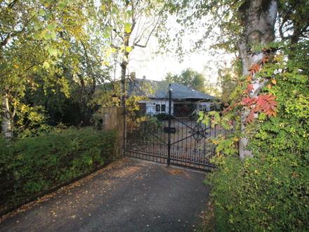 schönes Anwesen - 300m² Wohnfläche auf 6300m² Parkgrundstück ! Weitblick ohne Einblick.