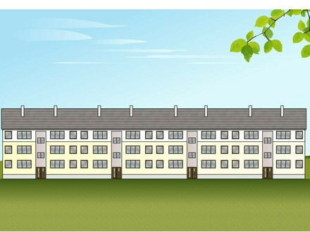 Erstbezug nach Komplettsanierung Tolle 2 Raum-Erdgeschosswohnung mit Balkon in ländlicher Wohnlage