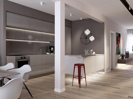 Luxuriöse 2-Zimmer-Wohnung am Benediktinermarkt