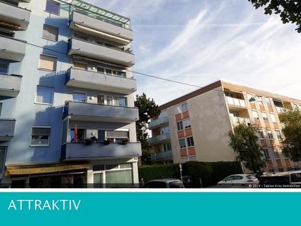 Sonnige 3 Zimmerwohnung mit Loggia zentrale Stadtlage Nähe LKH, PMU