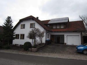 Gepflegte 3-Zimmer-Einliegerwohnung mit Terrasse in ruhiger Wohnlage