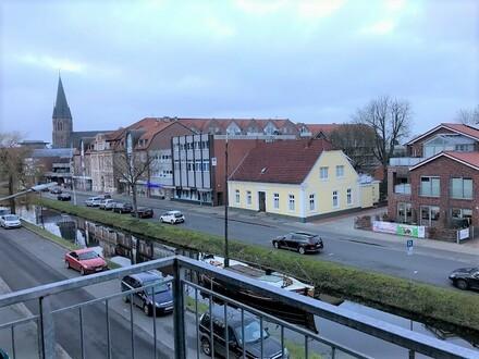 !!!Barrierefreie Wohnung mit Balkon über den Dächern von Papenburg!!!