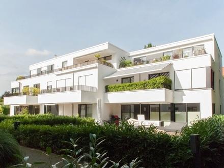 Moderne, hochwertig ausgestattete Eigentumswohnung mit 2 Balkonen in Bürgerparklage