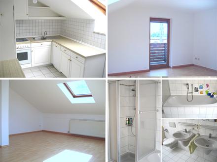 Passau-Heining, schöne 3 ½ Zi-Wohnung mit Balkon / Garage(n)