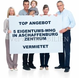 **VePa RENDITETIPP** 5 EIGENTUMSWOHNUNGEN IN BESTLAGE VON ASCHAFFENBURG
