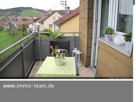 Attraktive 3 Zi.-Wohnung in ruhiger Lage! 2 Balkone*Garten*Stellplatz*