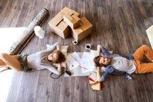 Schöne Terrassenwohnung für junge Paare oder Singles
