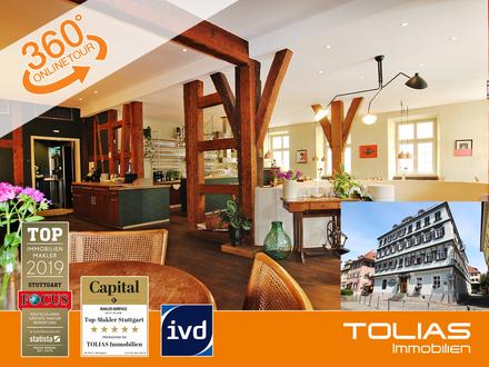 Altstadt-Schmuckstück! Uriges Restaurant, sehr attraktiv gelegen - 180 Sitzplätze innen, 60 außen