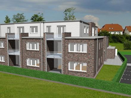 Neubau/Erstbezug: 2-Zimmer Obergeschosswohnung mit Balkon