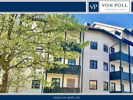 Großzügige 2-Zi.Wohnung mit EBK und Balkon