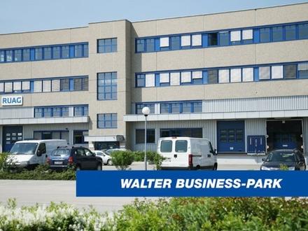 Modernes, helles Büro (147 m²) & Lager (430 m²) im Süden Wiens, provisionsfrei - WALTER BUSINESS-PARK