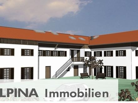 Erstbezug! Traumhafte 3-Zi Terrassenwohnung in Übersee am Chiemsee!