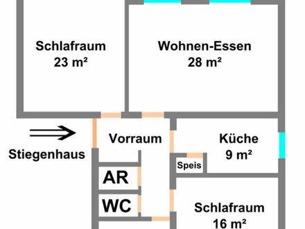 Klagenfurt - Kreuzbergl: 94 m² Mietwohnung in der Beethovenstraße