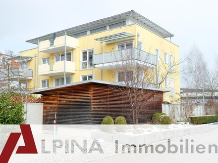 Beste Ausstattung - beste Lage - bester Blick! Premium-Penthouse in Rosenheims City!