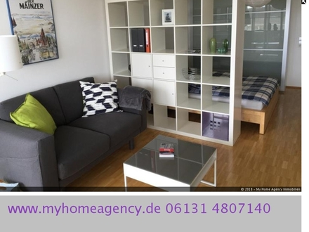 geräumiges modern möbliertes Apartment in Mainz-Lerchenberg