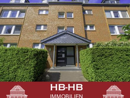 Helle, gepflegte 2 Zimmer Wohnung in Alt Osterholz mit 2 Balkonen.