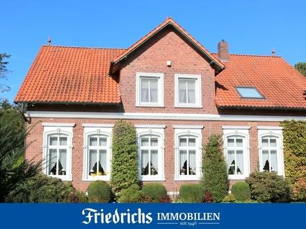Repräsentative Gründerzeit-Villa mit großz. Nebengebäude in ländlicher Lage in Bad Zwischenahn-Ekern