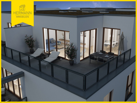 Illustration Dachterrasse