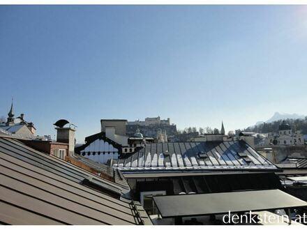 Einzigartig! Exklusive 3-Zimmer Dachterrassenwohnung in der rechten Altstadt, Salzburg