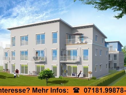 Eigentumswohnung mit Südbalkon - große Fenster im Wohnbereich, ideale, zentrale Lage