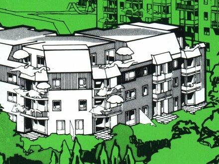 Wohnung in Heumaden über der Straße