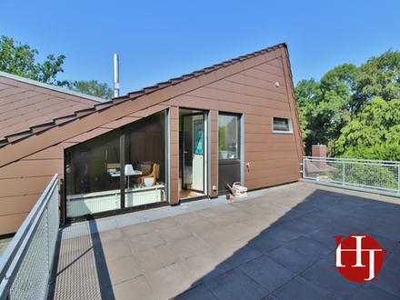 Wohnen wie im Urlaub - Dachterrassenwohnung in super ruhiger Lage!