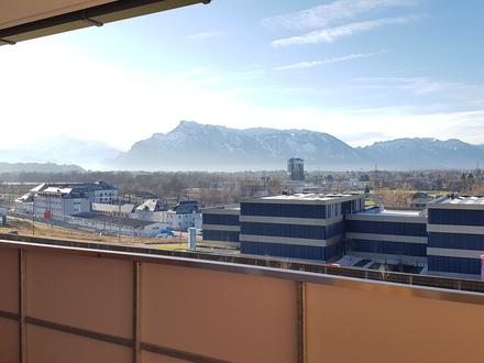 Sbg. Bergheim, moderne 2 Zimmer Whg. mit großer Loggia, Carport und Parkplatz