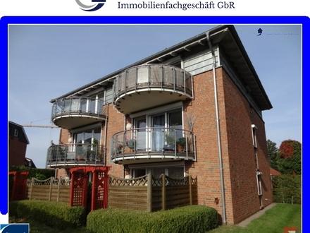 großzügige 3 Zimmer-Oberwhg. mit EBK, 2 Balkonen u. Garage im Zentrum von Westerstede