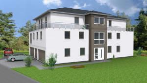 W6 - Erstbezug - Exklusives Penthouse für jedes Alter in Hille City [KfW55]