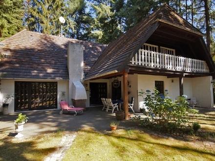 Großzügiges Einfamilienhaus auf waldähnlichem Grundstück