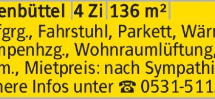 Tiefgrg., Fahrstuhl, Parkett, Wärmepumpenhzg., Wohnraumlüftung, u.v.m.,...