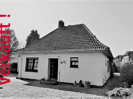 Modernisierungsbedürftiges, ebenerdiges Siedlungshaus in Varel-Obenstrohe