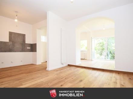 Neustadt / Kapitalanlage: Hochwertig sanierte Maisonettewohnung mit eigenem Garten