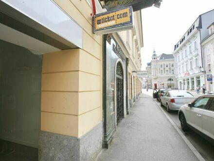 Klagenfurt - Innenstadt - Burggasse: Geschäftslokal in frequentierter Lage