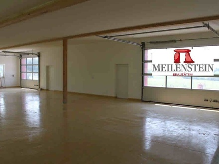 Gewerbehalle ca. 240m2 + Büro + Nebenräume ca. 110m2 in Eggelsberg!