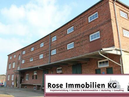 ROSE IMMOBILIEN KG: Gewerbeflächen/ trockene Kalthallen im Obergeschoss