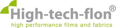 High-tech-flon films and fabrics