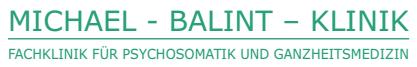 Michael-Balint-Klinik Dr. med. Wolfhardt Rother