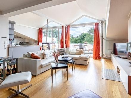 Großzügige 3-Zimmer-Wohnung mit traumhafter Dachterrasse in begehrter Wohnlage