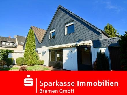 Großzügig geschnittene Doppelhaushälfte mit Garage in familienfreundlicher Lage von Lüssum-Bockhorn