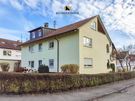 5 Zimmer-Wohnung mit Aussichtsbalkon und Garage in grüner Ortsrandlage von Waiblingen-Bittenfeld