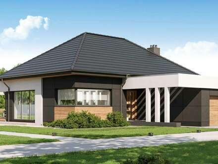 Moderner Neubau-Bungalow