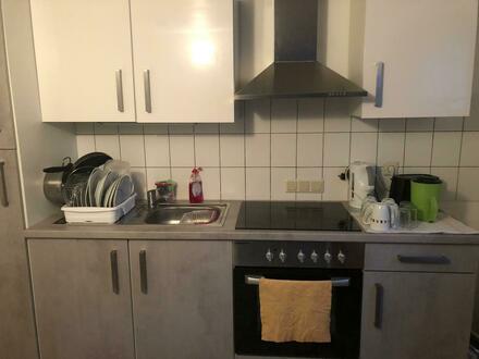 2ZKB, Souterainwohnung mit Einbauküche in MS-Roxel