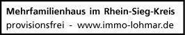 Mehrfamilienhaus im Rhein-Sieg-Kreis provisionsfrei zu verkaufen