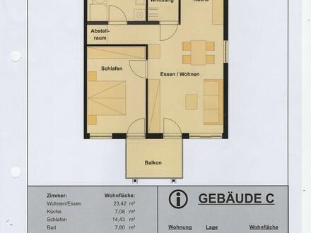 2-Zimmer-Wohnung in Künzelsau, Top-Lage