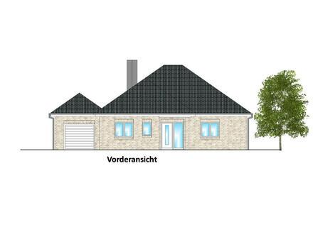 Exklusiver Neubau-Winkelwalmdachbungalow