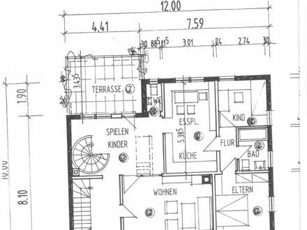 So hatte es der Architekt geplant .....