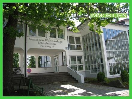 Schöne Seniorenwohnung zu vermieten - einfach Wohlfühlen in Ichenhausen - Mindestalter: 60 Jahre -